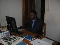 photo of a MuCoBa staff member